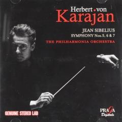 The final Sibelian trilogy ; herbert von karajan in london ; vol.2