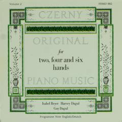 Original piano music for two, four and six hands