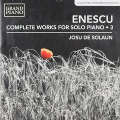 Complete works for solo piano 3 ; complete works for solo piano ; vol.3