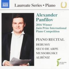 Piano recital : 2016 winner Jaén Prize International Piano Competition