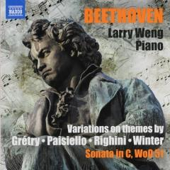 Variations on themes by Grétry, Paisiello, Righini and Winter