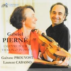 La musique de chambre pour violon et piano