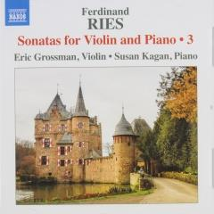 Sonatas for violin and piano 3 ; sonatas for violin and piano ; vol.3