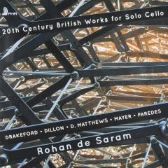 20th century British works for solo cello