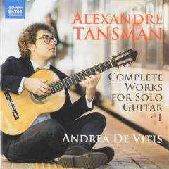 Complete works for solo guitar 1 ; complete works for solo guitar ; vol.1