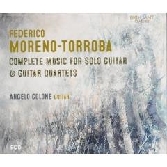 Complete music for solo guitar & guitar quartets