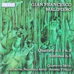 Quartetti n.1 e n.8