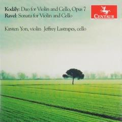 Duo for violin and cello, opus 7