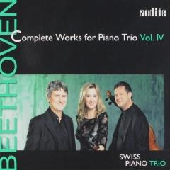 Complete works for piano trio vol.IV ; complete works for piano trio ; vol.4