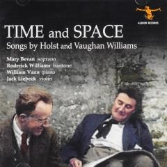 Time and space : Songs by Holst and Vaughan Williams