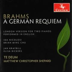 A German requiem, op.45 : London version, performed in English