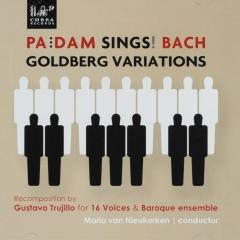 Padam sings Bach Goldberg variations