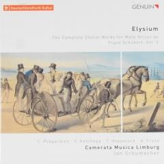 Elysium : The complete choral works for male voices by Franz Schubert ; the complete choral works for male voices by franz schubert ; vol.5