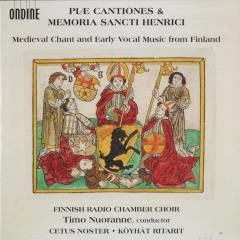 Piae cantiones & Memoria sancti Henrici : Medieval chant and early vocal music from Finland (2)