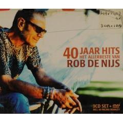 40 jaar rob de nijs 40 jaar hits [+ bonus dvd] (3)   Rob de Nijs   Muziekweb 40 jaar rob de nijs