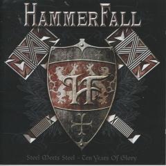 Steel meets steel : Ten years of glory - HammerFall - Muziekweb