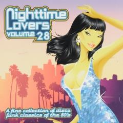Nighttime lovers : A fine collection of disco funk classics of the 80's ; vol.28
