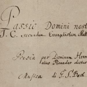 Basiscollectie klassiek: Bachs Matthäuspassion
